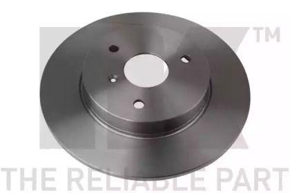 Тормозной диск на SMART CABRIO 'NK 203348'.