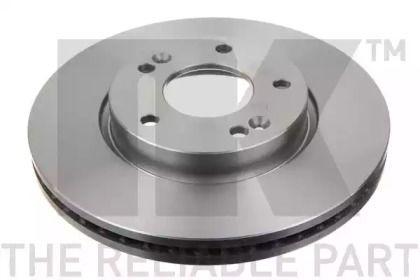 Вентилируемый тормозной диск на Киа Каренс 'NK 203423'.
