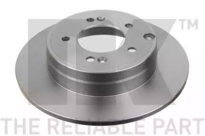 Тормозной диск на Хендай Грандер 'NK 203425'.