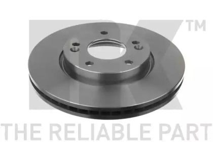 Вентилируемый тормозной диск на KIA CERATO KOUP 'NK 203526'.