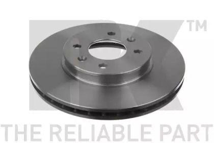 Вентилируемый тормозной диск на Хендай Н1 'NK 203537'.