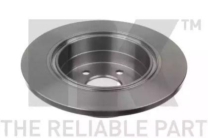 Тормозной диск на Опель Омега 'NK 203621'.