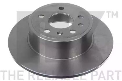 Тормозной диск на SAAB 9000 'NK 203624'.