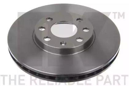 Вентилируемый тормозной диск на OPEL ZAFIRA 'NK 203629'.
