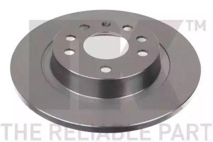 Тормозной диск на Сааб 9-3 'NK 203646'.