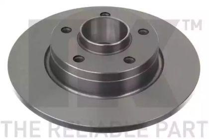 Тормозной диск на NISSAN PRIMASTAR 'NK 203647'.