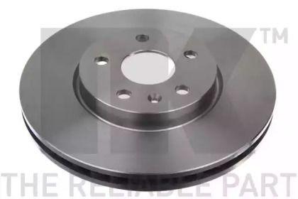 Вентилируемый тормозной диск на CHEVROLET CAMARO 'NK 203669'.