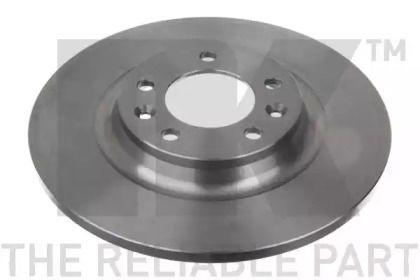 Тормозной диск на PEUGEOT 407 'NK 203729'.