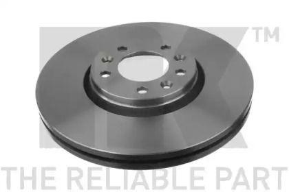 Вентилируемый тормозной диск на Тайота Проас 'NK 203734'.