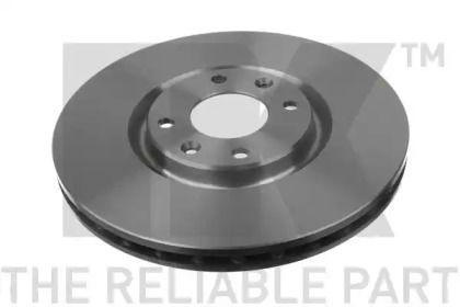 Вентилируемый тормозной диск на NISSAN SUNNY 'NK 203737'.