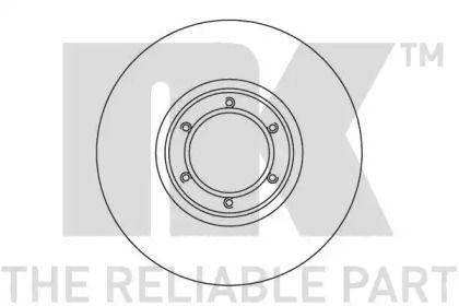 Вентилируемый тормозной диск на RENAULT TRAFIC 'NK 203905'.