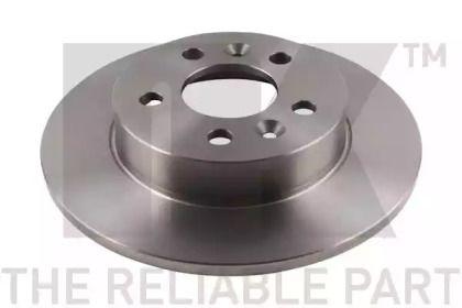 Тормозной диск на Рено Лагуна 'NK 203915'.