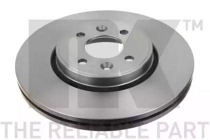 Вентилируемый тормозной диск на DACIA DOKKER 'NK 203919'.