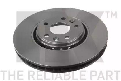Вентилируемый тормозной диск на RENAULT TALISMAN 'NK 203969'.