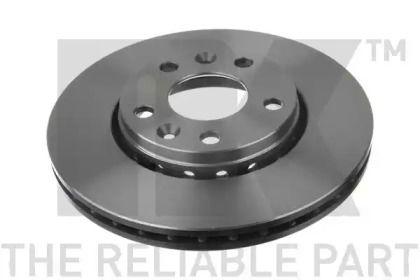 Вентилируемый тормозной диск на Ниссан Террано 'NK 203970'.