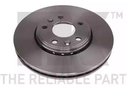 Вентилируемый тормозной диск на RENAULT LATITUDE 'NK 203971'.