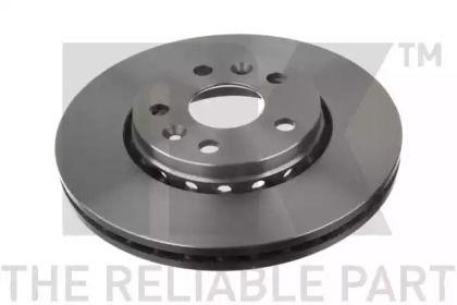 Вентилируемый тормозной диск на Мерседес Цитан 'NK 203974'.