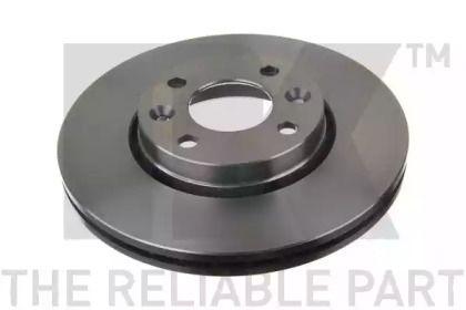 Вентилируемый тормозной диск на Дача Докер 'NK 203992'.