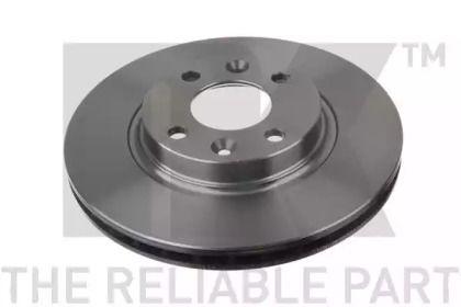 Вентилируемый тормозной диск на NISSAN LAUREL 'NK 203996'.