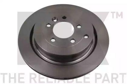 Вентилируемый тормозной диск на RANGE ROVER SPORT 'NK 204029'.