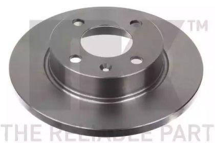 Тормозной диск на SKODA FAVORIT NK 204305.