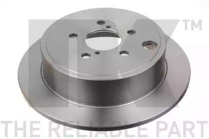 Тормозной диск на Тайота Гт86 'NK 204418'.