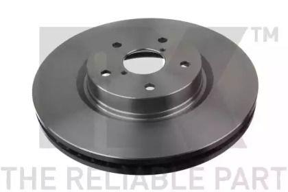 Вентилируемый тормозной диск на Субару Трибека 'NK 204421'.