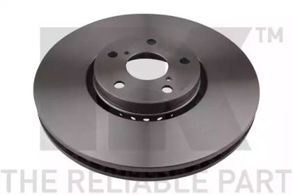 Вентилируемый тормозной диск на LEXUS RC 'NK 2045105'.