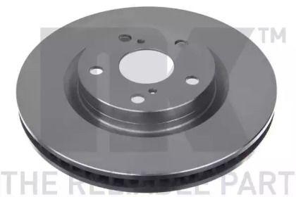 Вентилируемый тормозной диск на TOYOTA AURION 'NK 2045117'.