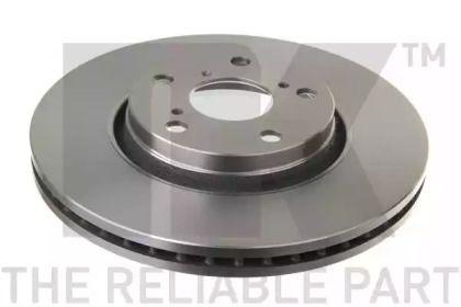 Вентилируемый тормозной диск на TOYOTA VERSO 'NK 2045122'.