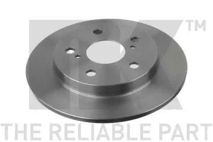 Тормозной диск на Тайота Королла 'NK 2045124'.