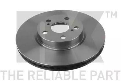 Вентилируемый тормозной диск на Тайота Версо 'NK 2045132'.