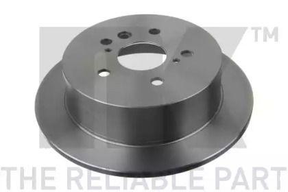 Тормозной диск на LEXUS RX 'NK 2045160'.