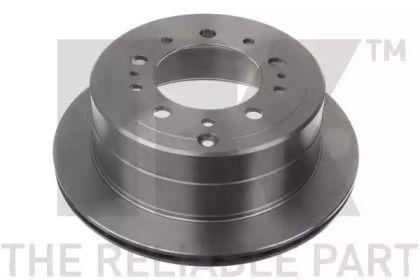 Вентилируемый тормозной диск на Лексус ЛХ 'NK 2045161'.