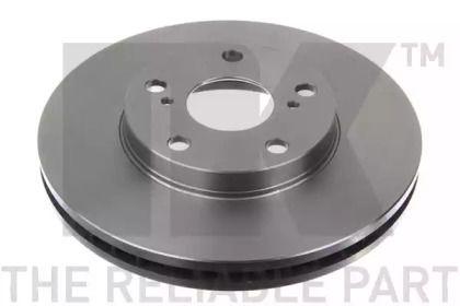 Вентилируемый тормозной диск на Лексус ЕС 'NK 204549'.