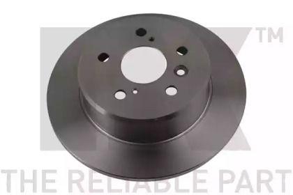 Тормозной диск на LEXUS ES 'NK 204570'.