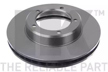 Вентилируемый тормозной диск на Лексус ЛХ 'NK 204597'.