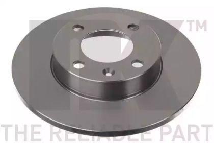 Тормозной диск на VOLKSWAGEN DERBY 'NK 204704'.