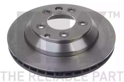 Вентилируемый тормозной диск на AUDI Q7 'NK 2047106'.