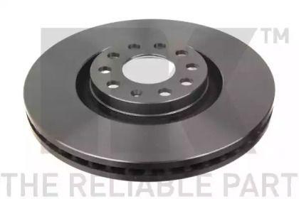 Вентилируемый тормозной диск на Ауди Олроуд 'NK 2047107'.