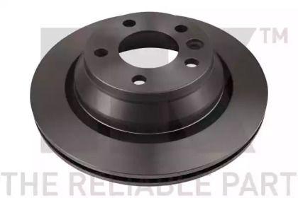 Вентилируемый тормозной диск на Фольксваген Мультивен 'NK 2047114'.