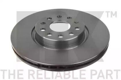 Вентилируемый тормозной диск на VOLKSWAGEN ARTEON 'NK 2047115'.