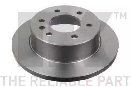 Тормозной диск на Фольксваген Крафтер 'NK 2047122'.