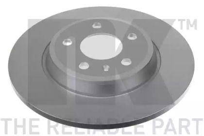 Тормозной диск на Ауди Ку5 'NK 2047129'.