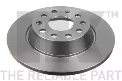 Тормозной диск на Сеат Альхамбра 'NK 2047133'.