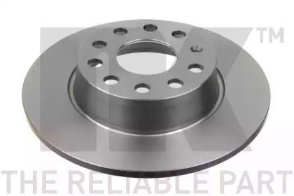 Тормозной диск на AUDI Q2 'NK 2047137'.