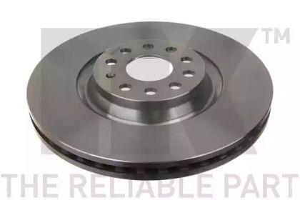 Вентилируемый тормозной диск на Фольксваген Артеон 'NK 2047141'.