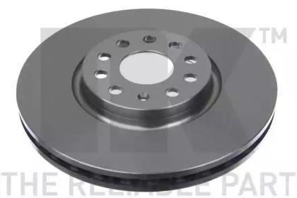 Вентилируемый тормозной диск на SKODA KODIAQ 'NK 2047146'.