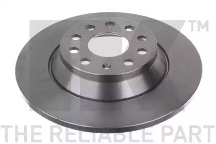 Тормозной диск на Фольксваген Артеон 'NK 2047160'.