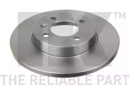 Тормозной диск на Сеат Инка 'NK 204728'.